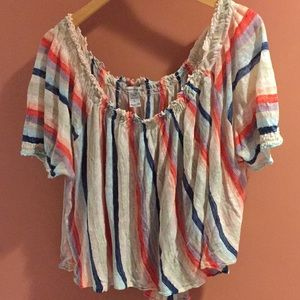 American Rag Off Shoulder Slouchy Sweater Sz Large